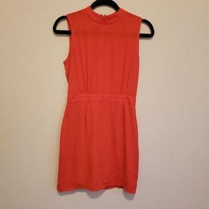 ASOS Little Red High Neck Dress